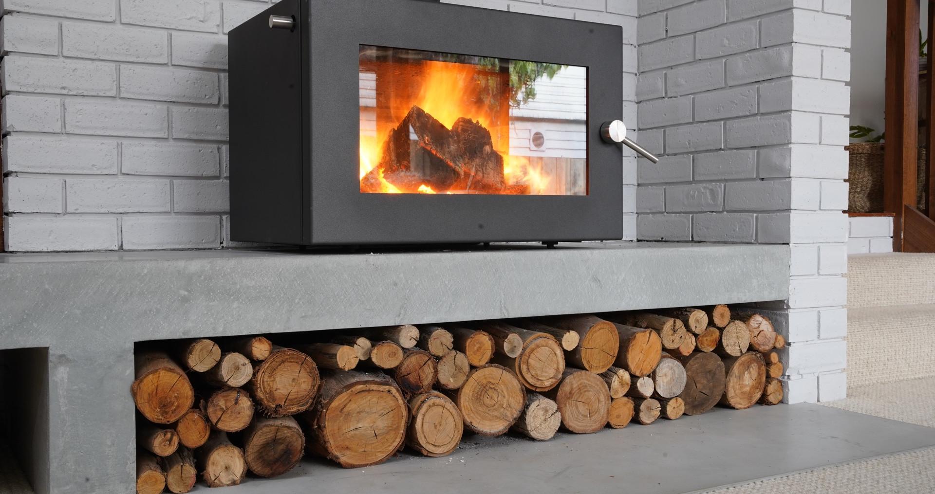 Concrete Fire Hearth - Geelong