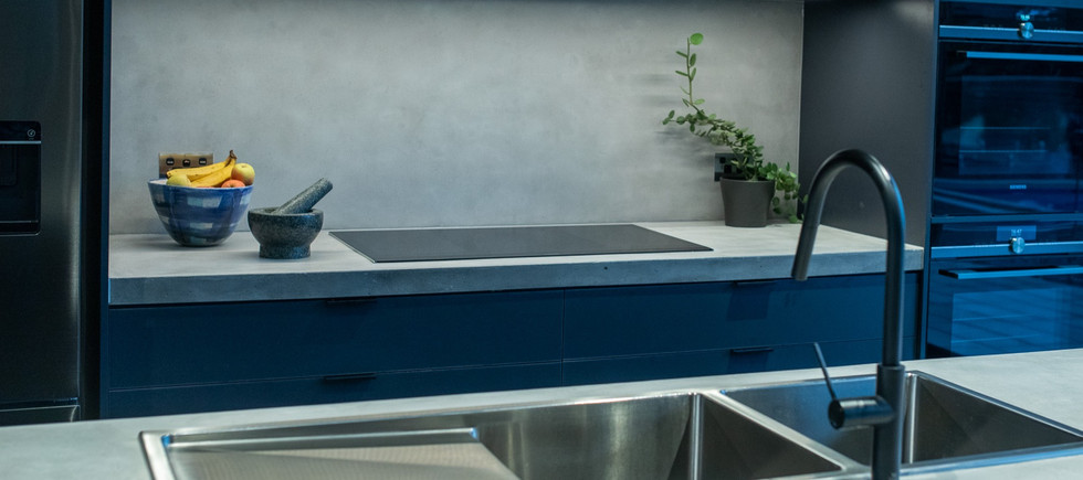 Torquay - Matching Concrete Benchtops