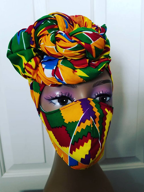 #79 Ankara Headwrap set