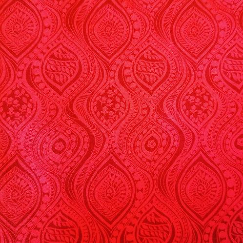 #45 Red Pattern