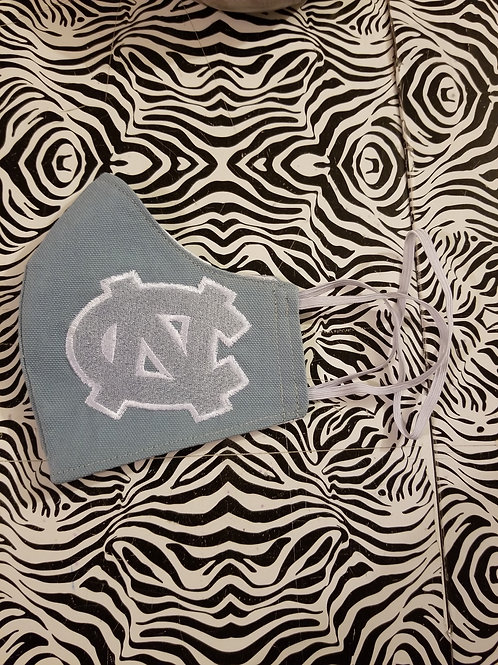 Blue Embroidered UNC