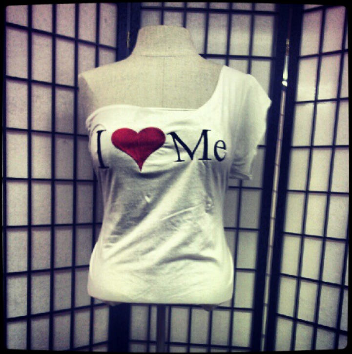 one shoulder i love me tee.png