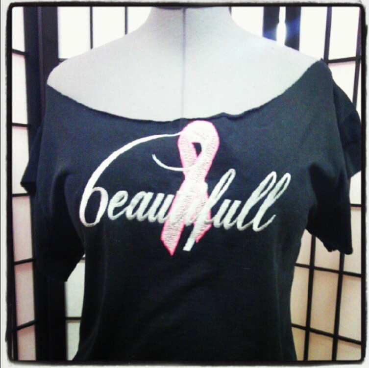 beautifull breast cancer tee.png