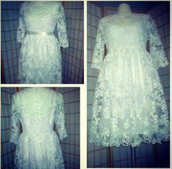 Short white wedding dress.png