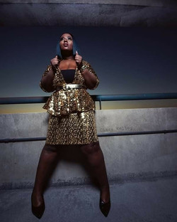 Yes! Curves, sequins and chocolate skin!
