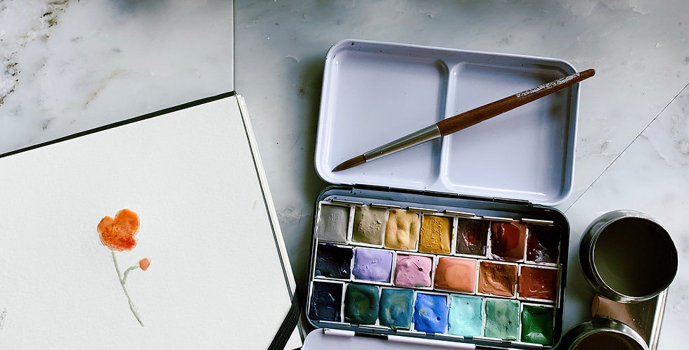 Traditional Watercolor Pallet