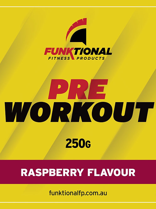 Funktional Pre Workout - Raspberry (71 serves)