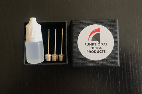 Inflation Needles and Lubricant