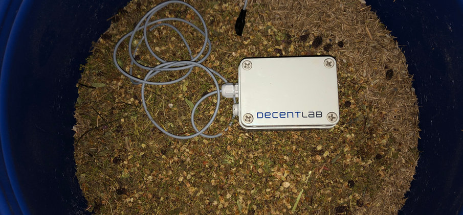 DL-SHT35-001 Sensor System Decentlab  © Wolfgang Bischoff