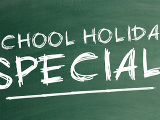 Early Bird School Holiday Special