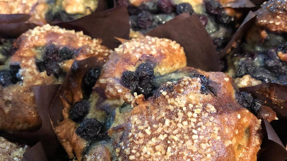 Vegan Gluten Free Blueberry Muffin