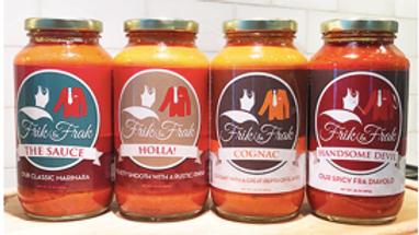 Frik & Frak Foods Artisanal Sauces