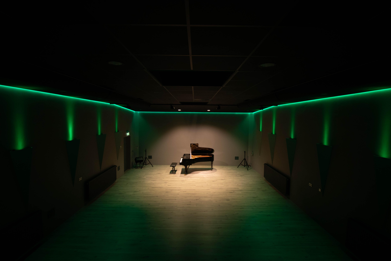 Prive sessie studio en zaal | 12 uur