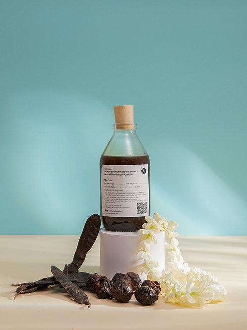 Dầu Gội Bồ Hòn Hữu Cơ - Hương Lài/ Jasmine Soapberry Organic Shampoo