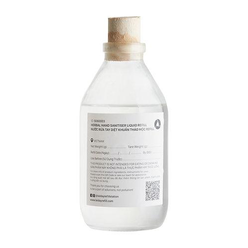 Refill Nước Rửa Tay Diệt Khuẩn Thảo Mộc/ Refill Herbal Hand Sanitiser Liquid