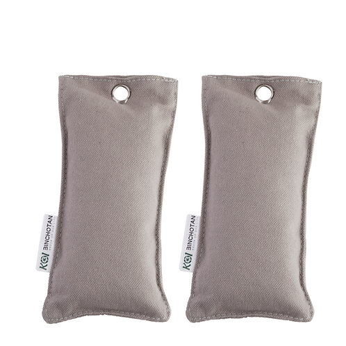 Túi Than Khử Mùi - Loại Nhỏ (02 túi/set)/ Air Purifying Charcoal Sachet - Small