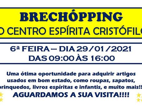 BRECHÓPPING DO CRISTÓFILOS