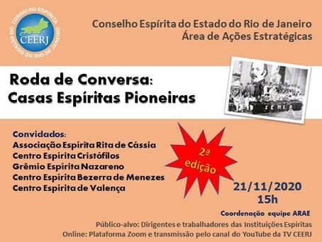Roda de Conversa: Casas Espíritas Pioneiras