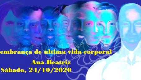 Palestra de Ana Beatriz pelo Zoom