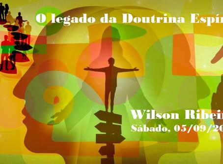 Palestra de Wilson Ribeiro pelo Zoom