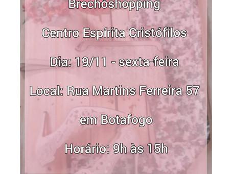 Brechóshopping 19/11