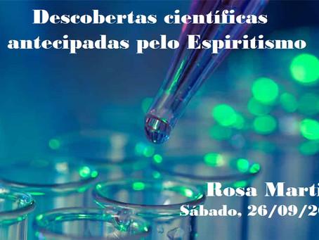 Palestra de Rosa Martins pelo Zoom