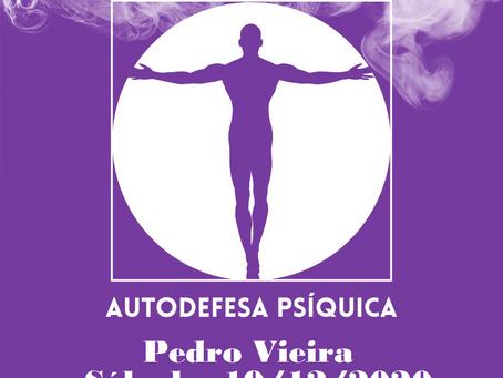 Palestra de Pedro Vieira pelo Zoom