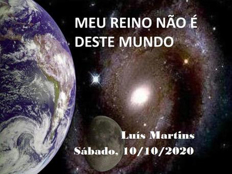 Palestra de Luís Martins pelo Zoom