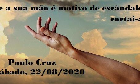 Palestra de Paulo Cruz pelo Zoom