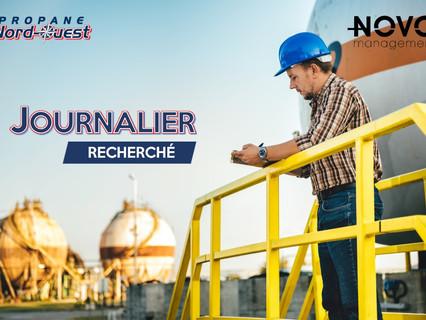 Journalier - Comblé