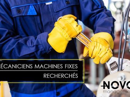 Mécaniciens Machines Fixes - Comblé