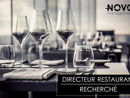 Directeur de restaurant - Comblé