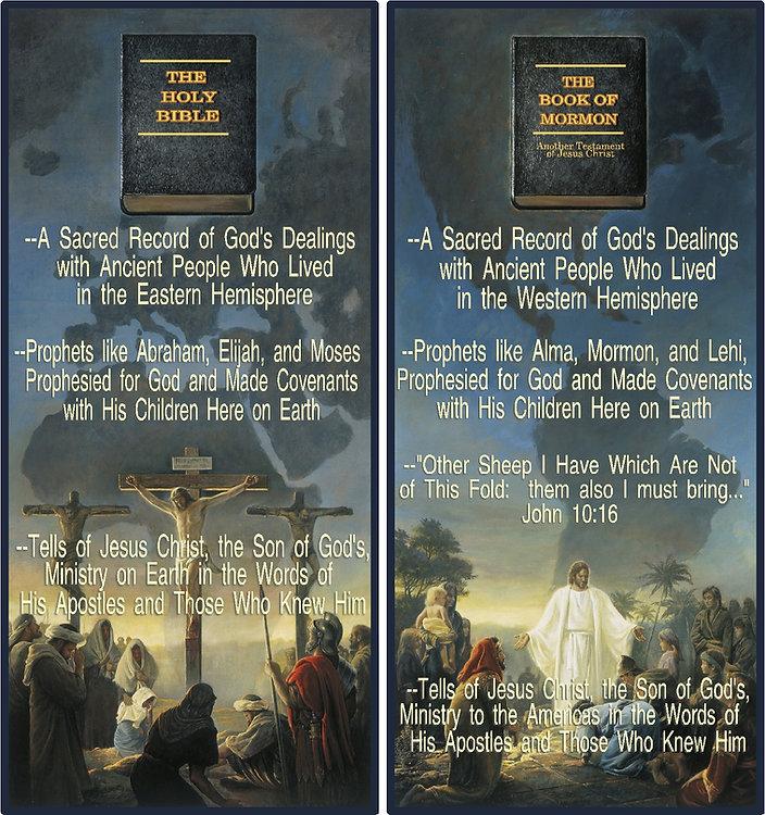 Jesus Christ, Mormon belief, scriptures, Book of Mormon