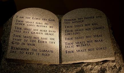 God's Commandments, Mormon belief, ten commandments