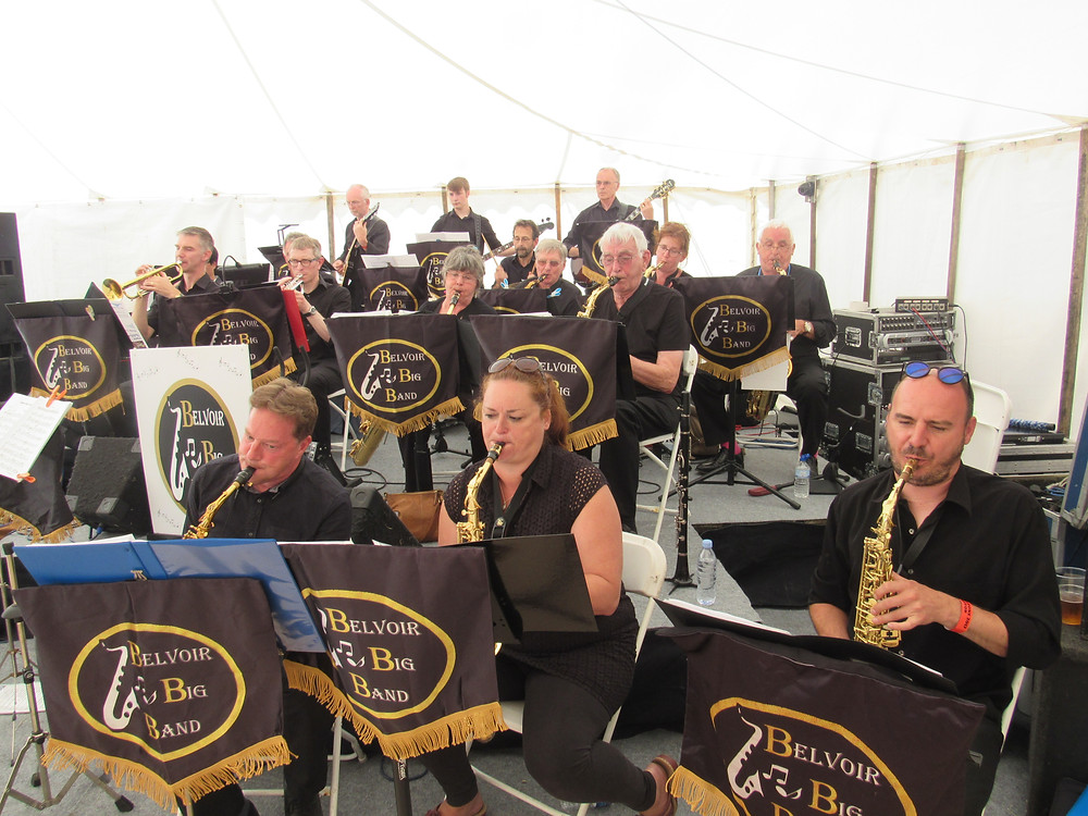 Best photo of Belvoir Big Band 2017 Rempstone steam fair
