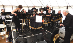 SOME OF THE BAND PREPARING FOR REMPSTONE