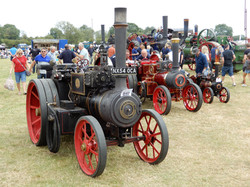 SOME TRACTION ENGINES AT REMPSTONE 2019.