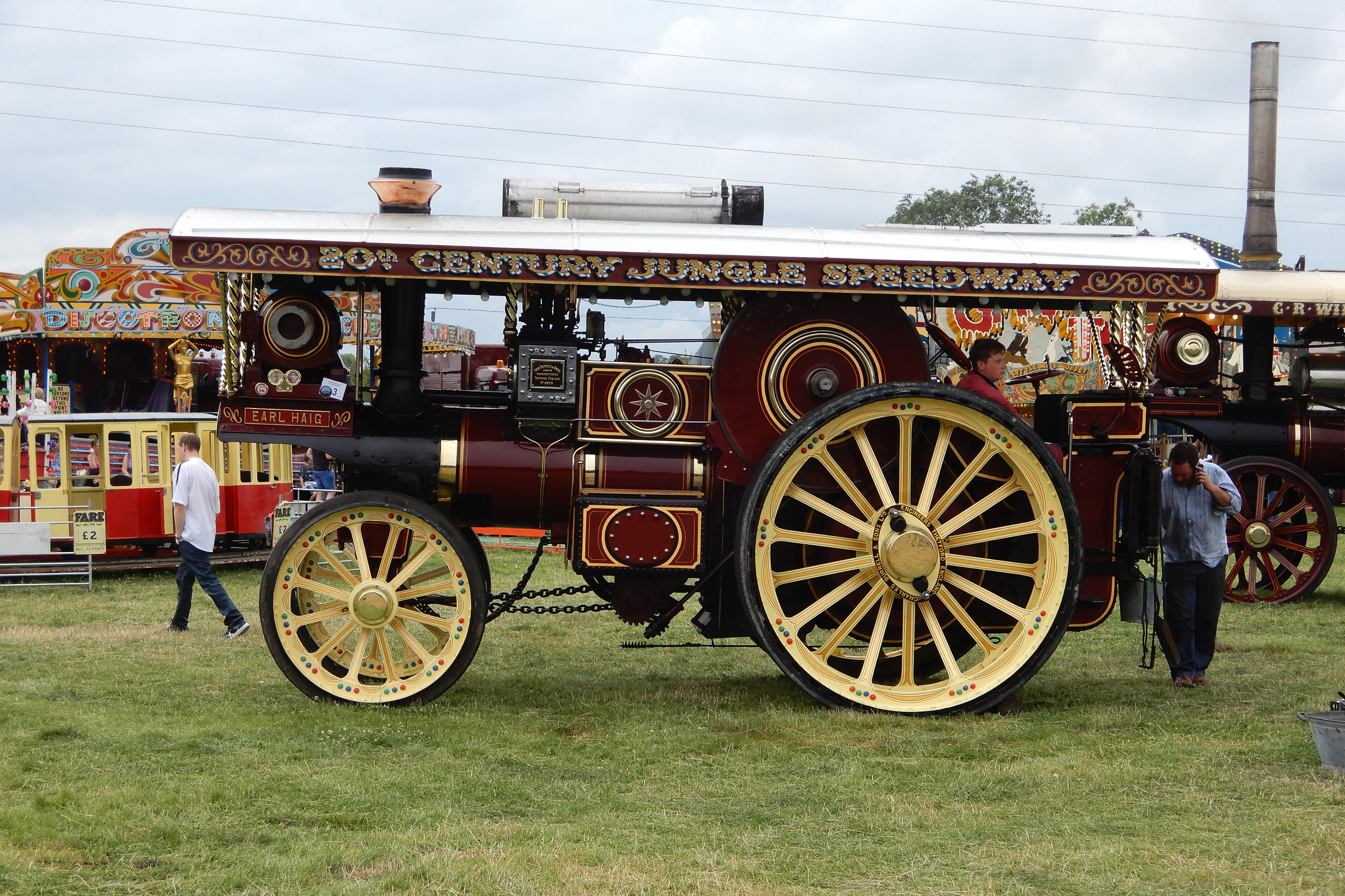 Showman's engine at Rempstone 2019