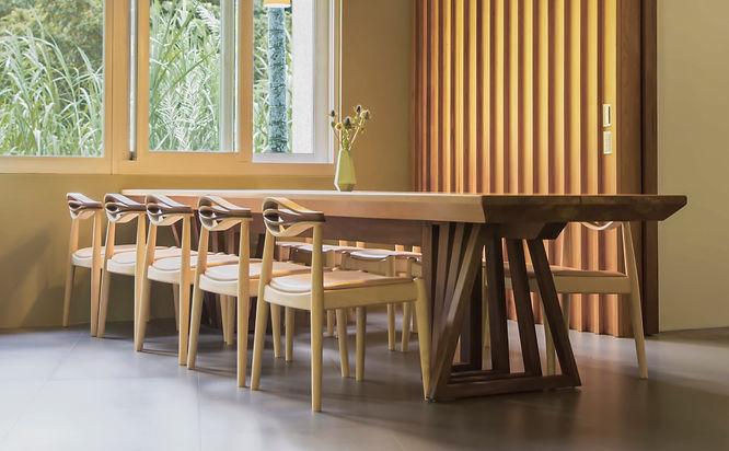 餐桌 餐椅 Dinning Table 木餐桌, 室內空間, 訂製家具