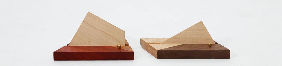 小山名片架, 木作名片架, card holder, 設計小物