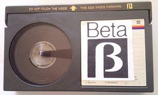 BETA a dvd