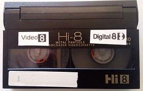 DIGITAL 8 HI8 VIDEO8 a dvd