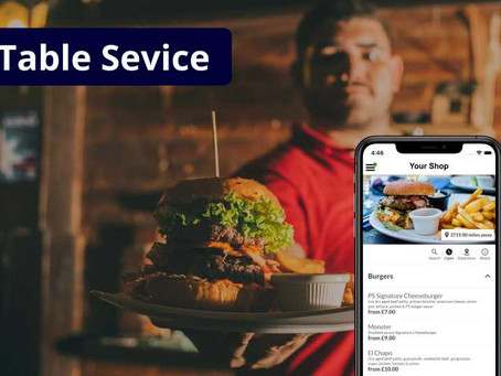 New Covid Rules Put Table Service At The Front Of The Queue