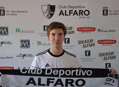 Acuerdo de renovación con el C.D. Alfaro