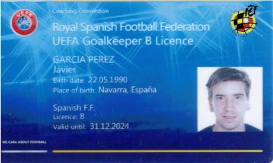Finalizado el curso UEFA Goalkeeper B