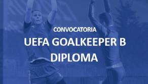 Estaré presente en el UEFA Goalkeeper B