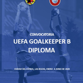 """I will be in the UEFA Goalkeeper """"B"""" degree"""