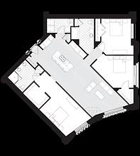 Stewart Apartment Floor Plan