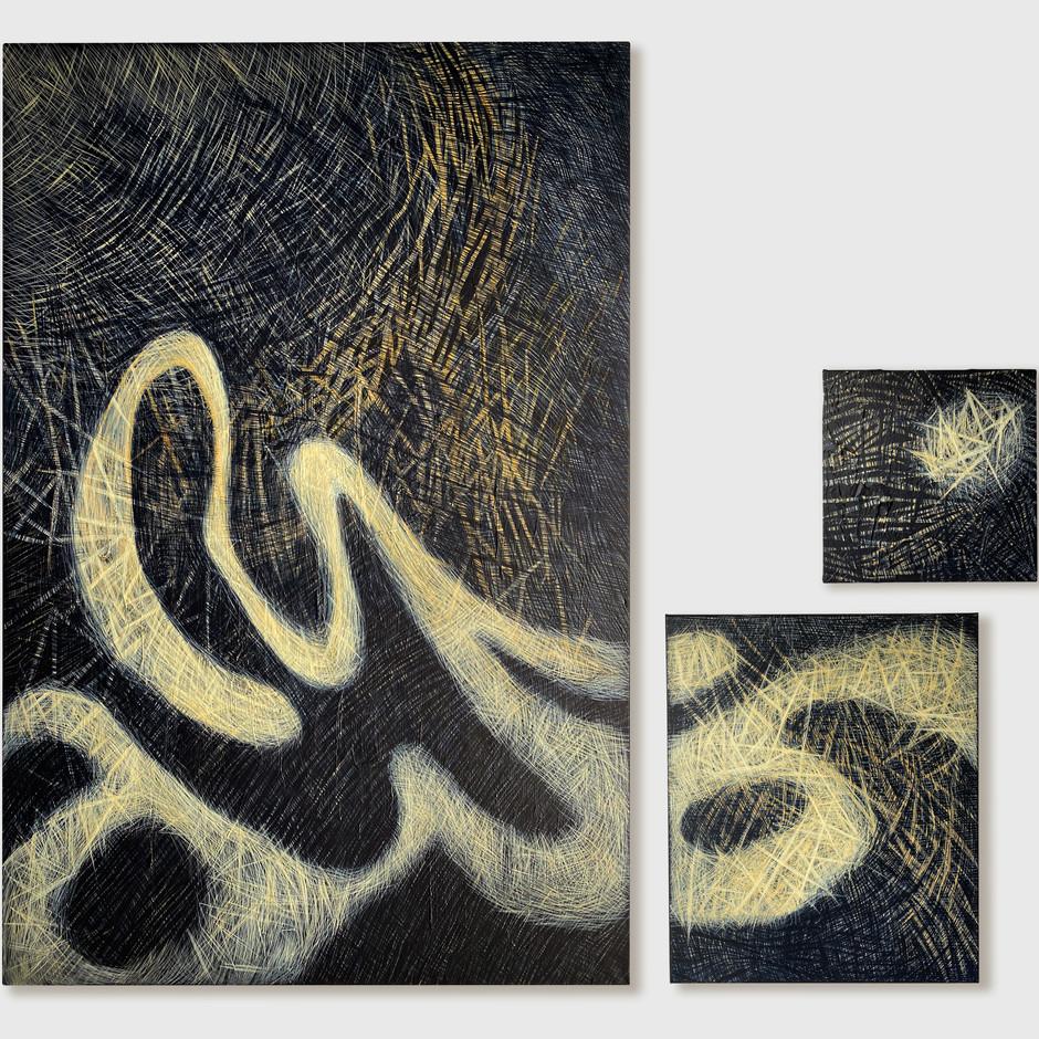 HORNET 04 triptych