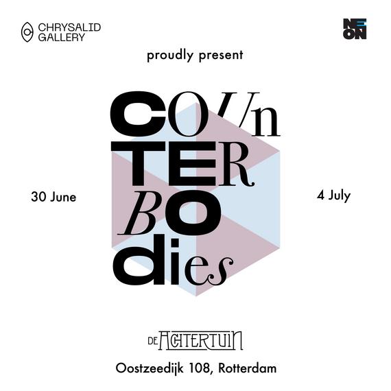 Counterbodies exhibition announcement